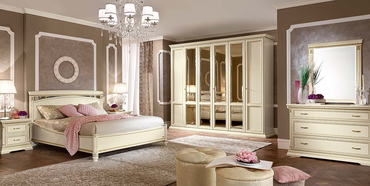спальня treviso avorio