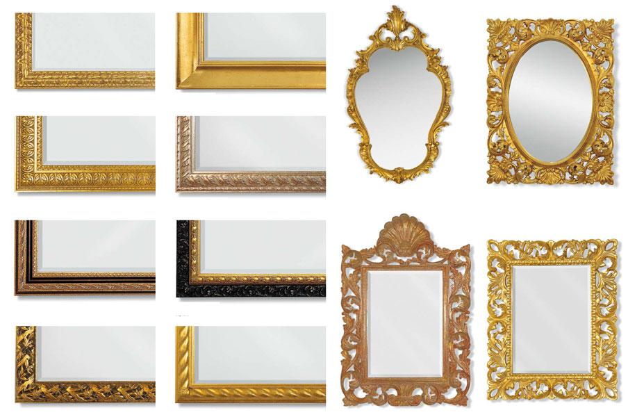 Обрамления зеркал своими руками