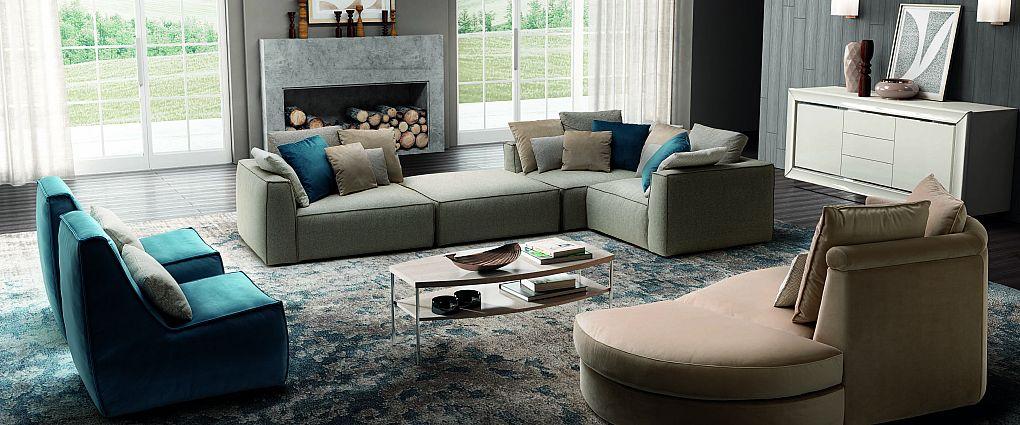 мягкая мебель piuma
