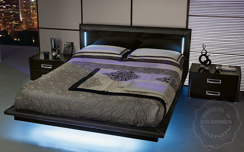 Кровати с подсветкой своими руками